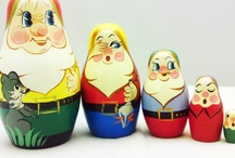 Matroesjka-Matroschka-Matryoschka-Matrioshka-Matrioska-Matriochka en Baboesjka-Babushka / Matryoshka-Matroschka-Matroesjka-Matrioska-Matriochka en Baboesjka- Babushka