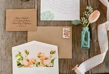 Wedding invitations / by Flower 597