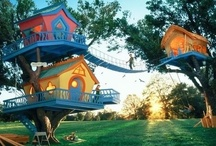 Awesome treehouses / by Karin Doumouras