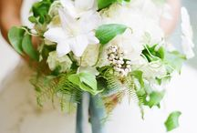 Bouquets -White , Green & Gray / by Flower 597