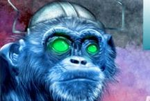 Electric Pencil Productions / A compilation of posts and links to my blog.  (Previously Blue Monkeys From Marz)
