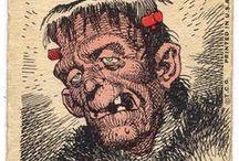 Jack Davis / Co-founder of Mad Magazine, caricaturist and cartoonist.
