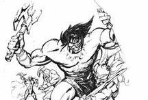 Jim Smith / Spumco artist, cartoonist extraordinare, barbarian.