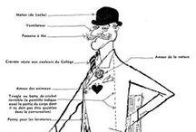 Ronald Searle / The genius of cartoonist Ronald Searle.