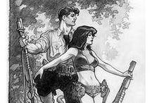 Mark Shultz / Work of the comics master Mark Shultz. Creator of Xenozoic Tales (Cadillacs and Dinosaurs).