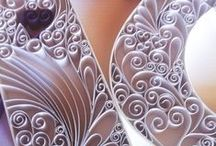 All in the Details - Quilling by Courtney Closeups / More detailed shots of my custom made Quilling pieces