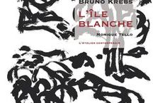 Bruno Krebs : L'Ile blanche / http://editionslateliercontemporain.net/collections/litterature/article/l-ile-blanche