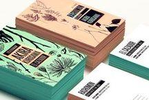 cartes de visite / Inspiration pour des cartes de visite