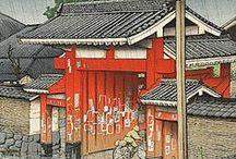 """Japon: Estampes modernes / les estampes japonaises modernes des deux mouvements  """"nouvelles estampes"""" ou """"estampes créatives"""""""