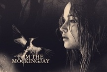 The girl on fire. / Admit it, you cried during Mockingjay. / by Madalyn Hardwick