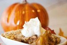 Autumn Recipes / My favorite Season for Cooking and Decorating / by Brittany Gaunder