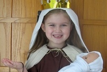 Catholic DIY Saint Costumes ⊰† / Ideas to help inspire you when creating a saint costume for your kids!
