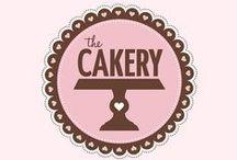 The Cakery / The Cakery Leamington Spa - Branding design, web design, inspiration / by Charlotte J Hancocks