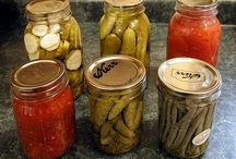 Gardening and Canning  / by Ninah League
