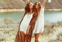 Boho Beauty / Bohemain Hair, Fashion, Living... Gypsey, Boho style