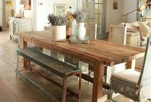 Good Eats, Good Seats / Cool dining tables and stuff to put on them