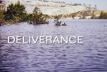 Deliverance / Homage to Hubs' and my first-date movie...(I picked the movie. As you see, he married me anyway!)
