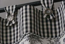 My Love Affair with Black Gingham / I'm in love with b/w checks....