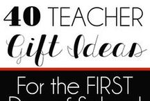 Teacher Gift Ideas / Gifts for teachers to thank them for growing little minds & personalities.