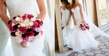 Wedding Flower Inspiration / Come see our client's examples of elegant wedding flower arrangements, wedding flower inspiration, florist recommendations.   Come see more inspiration here: http://kevinlevuweddings.com