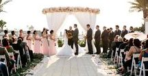 Wedding Ceremony Inspiration / Come see our wedding ceremony site inspiration board. Here you'll find all kinds of setups, church weddings, outdoor ceremonies, beach ceremonies, hotel ceremonies, estate ceremonies, and more!  See more: http://kevinlevuweddings.com