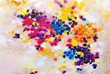 My original paintings on canvas / by Artbyasta