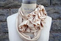 Jersey Scarves / I literally wear a scarf every day...these are some of my fav's