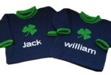 Personalized for the Holidays! / Unique personalized sweaters, hats, scarves and gifts for the holidays.   #st. patrick's day gift #easter sweater #christmas apparel #baby sweaters #personalized #custom knits #baby apparel #childrens clothing