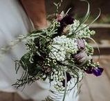Bridal Bouquet Inspiration / Inspiration for beautiful wedding bouquets for the bride and bridesmaids.