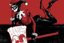 Harley Quinn / Harley Quinn: Dr. Harleen Frances Quinzel's slightly crazier side.
