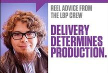 Production Tips: Reel Advice from the LBP Crew / Have you heard? We're giving away top-secret information. For FREE.   Okay, maybe it's not top-secret. But our crew has been making videos for a long time. They've got serious insider knowledge on the best ways to plan, produce and publish video. And they're spilling it for you.  / by Locke Bryan Productions