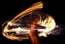 Fire dancing (my passion) / FLAME HOT FIRE