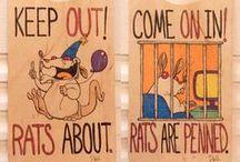 ale Szczurki! / Pomysły na urządzenie klatki, tricki, zabawa, 'szkolenie' szczurków, żywienie