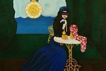 Hana Szarowski Art / Paintings and drawings by Hana Szarowski.