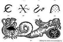 Símbolos: Alquimia y Astrología