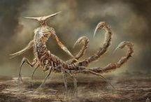 Monstruos Zodiacales / Monstruos zodiacales por Damon Hellandbrand