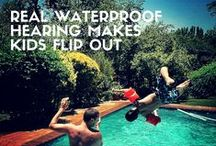 Life Without Limitations / Have a look at AB's #cochlearimplant technology at work!  #waterproof and Build Kid Tough™