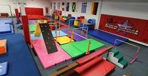 Mancino Custom Gyms / Mancino can customize and create your gym design for gymnastics, cheer, martials arts or MMA.