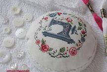 Cross-stitch, Punto de cruz
