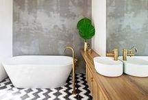 Bathroom / Bold and clean design ideas for our future bathroom