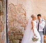 Italy Wedding Inspiration / Destination wedding inspiration for couples planning a destination wedding in Italy.