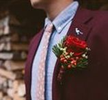 Groom Inspiration / For groom's looking for something alternative and non-traditional to wear for their wedding day.