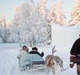 Lapland Wedding Inspiration / Inspiration for winter weddings in Lapland #laplandwedding