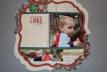 Scrapbook pages / by Meg Ridgway