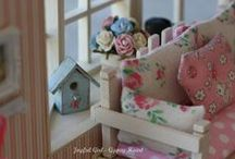 My Work: Joyful Girl - Gypsy Heart / You can find my website here  http://joyfulgirlgypsyheart.com/  My roomboxes, dollhouses and personal collection of miniatures in 1:12 scale