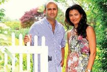 The Home of Sachin + Babi / The designers show us their Water Mill abode.