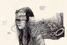 Inspiración Ilustración - Arte / by Silvia Tateo