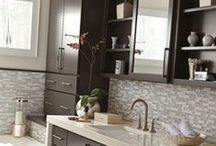Diamond Cabinets / Innovative storage solutions keeps everything together and  within reach. Functionality and Beauty in all the options.