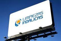 Limpieza / Servicios integrales / Lavanderías / Diseño de logotipos para empresas relacionadas con la limpieza: Servicios integrales, lavanderías, etc...
