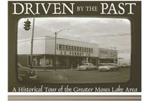 Driven by the Past / A Historical Driving Tour of the Greater Moses Lake Area. Written and produced by Mark Amara, Ann Golden, and Ged Golden. This publication was produced as part of the annual Washington State Archaeology Month, in 2005.